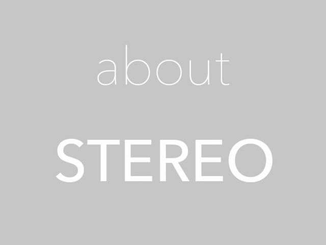 about STEREO